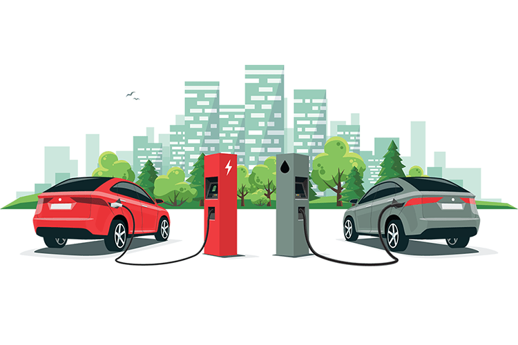 the difference between an electric car and a hybrid